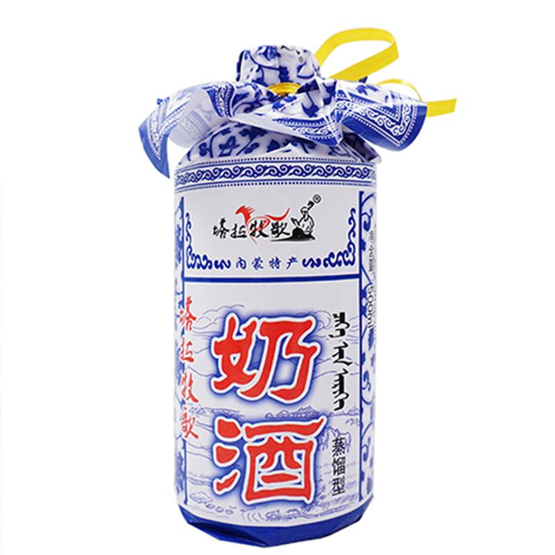 38°内蒙古地产酒 塔拉牧歌奶酒500ml【6瓶起购送50g牛肉干】