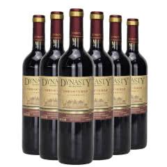 王朝橡木桶干红葡萄酒94赤霞珠750ML*6支装整箱红酒