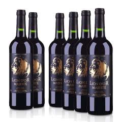法国(原装原瓶进口)皇家金狮干红葡萄酒750ml(6瓶装)