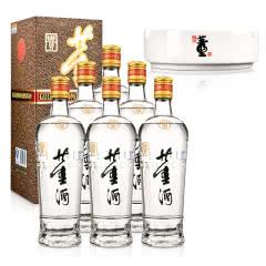 54°老贵董酒500ml(6瓶装)+董酒烟灰缸(乐享)