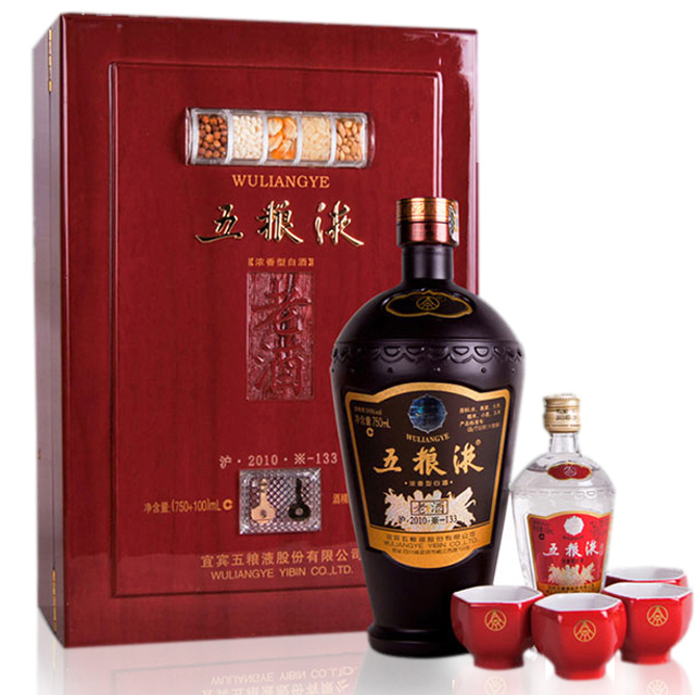 【老酒特卖】56°五粮液老酒礼盒850ml(2012年)