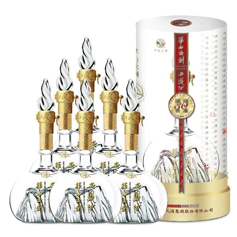 45°西凤酒华山论剑30年500ml(6瓶装)