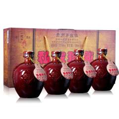 【一道泓特卖】53度一道泓私家珍藏   酱香型白酒500ml*4