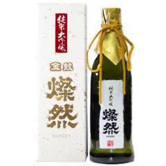 16°日本燦然灿然 纯米大吟酿清酒 限定酿造 720ml