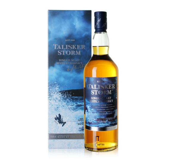 45.8°英国泰斯卡风暴系列单一麦芽苏格兰威士忌700ml