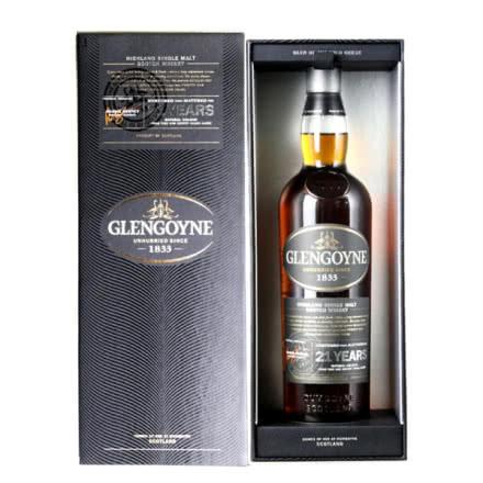 43°英国格兰哥尼21年单一麦芽威士忌700ml