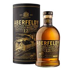 40°英国艾伯迪12年单一麦芽威士忌700ml