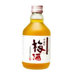 14°日本梅酒小正 梅子力娇酒配制酒女士青梅酒梅子果酒300ml