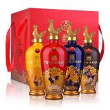 【爆品特卖】52°五粮液股份丁酉鸡年生肖纪念酒礼盒500ml*4瓶