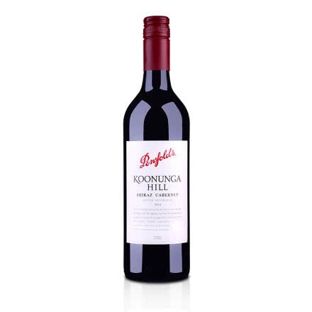 澳洲红酒澳大利亚奔富寇兰山赤霞珠西拉红葡萄酒750ml(又名:西拉卡本内)