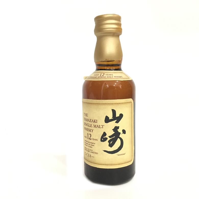 43度 山崎单一麦芽威士忌酒 50ml(小样)