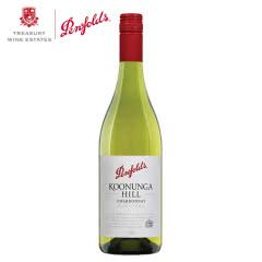 澳洲红酒澳大利亚奔富寇兰山莎当妮白葡萄酒750ml