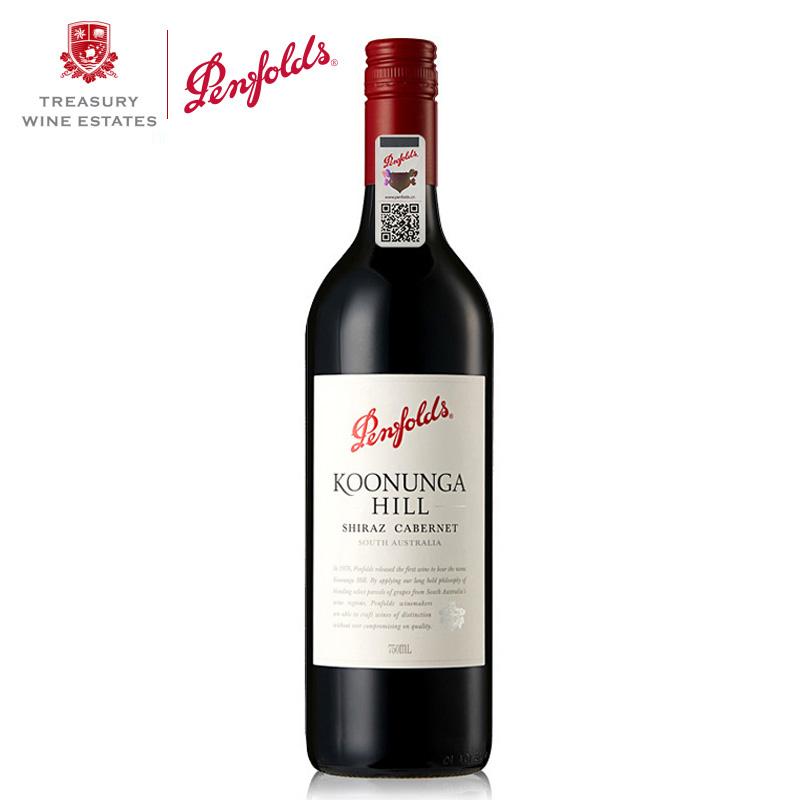 澳洲红酒澳大利亚奔富寇兰山设拉子赤霞珠红葡萄酒750ml