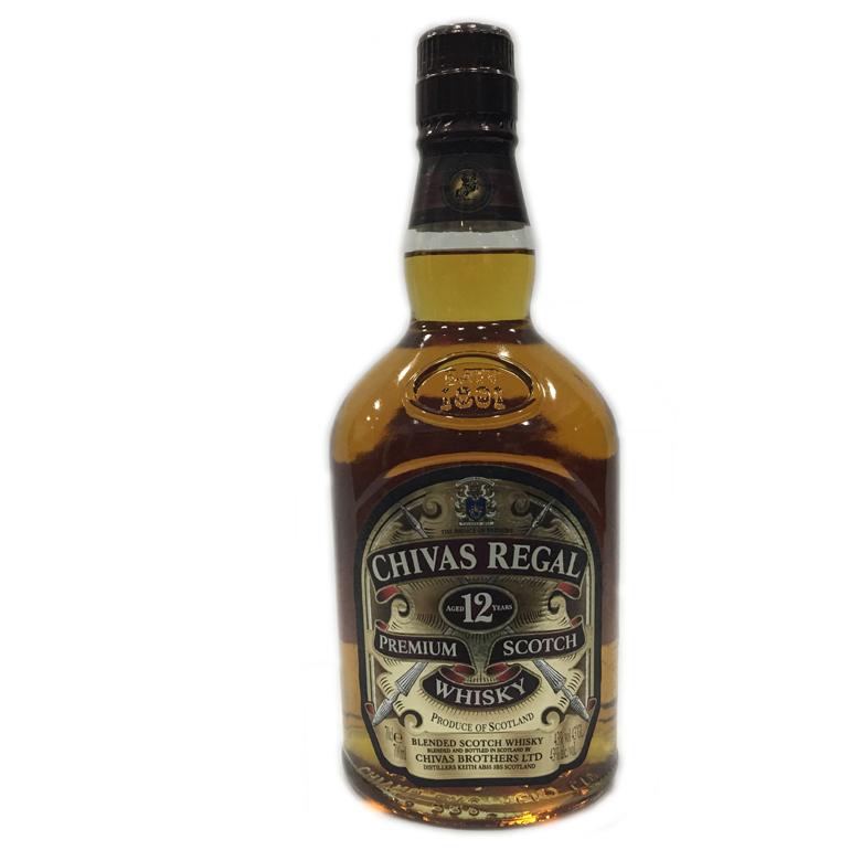 43度 芝华士12苏格兰威士忌 700ml 2005年