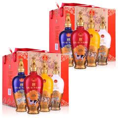 五粮液股份公司戊戌(狗)年纪念酒500ml(4瓶)*2
