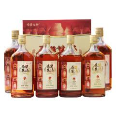 正宗绍兴黄酒五年陈15.5度原装基酒整箱礼盒 500ml*6瓶