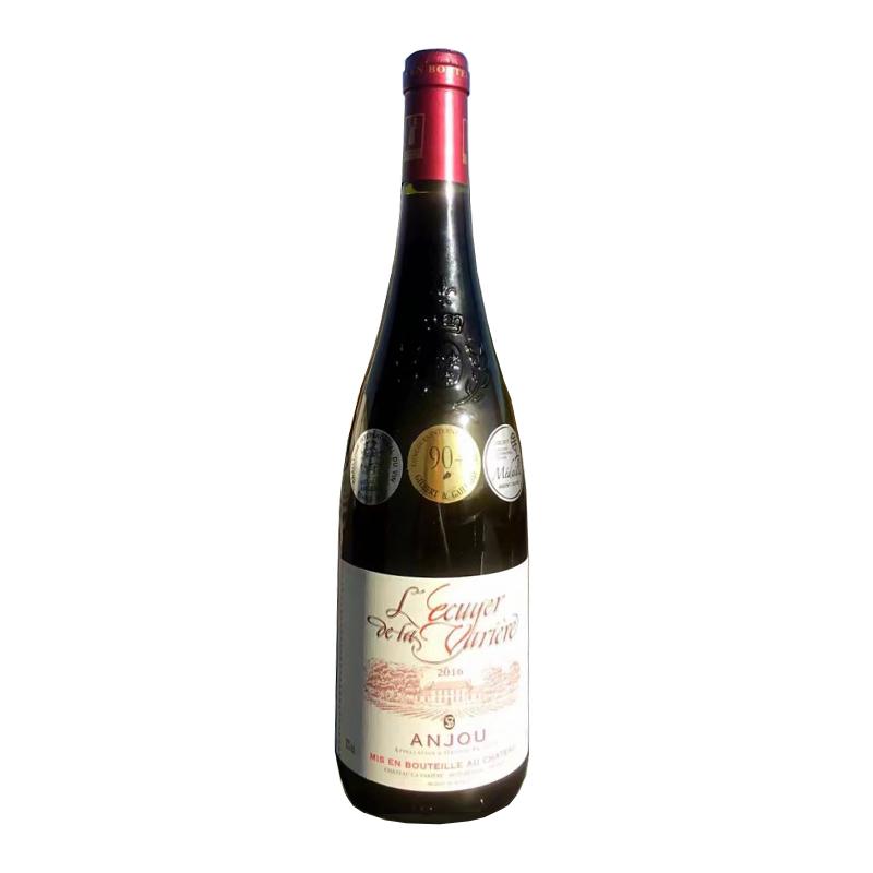 法国瓦榭尔骑士安茹干红葡萄酒750ml
