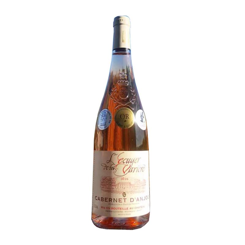 法国瓦榭尔骑士安茹桃红葡萄酒750ml