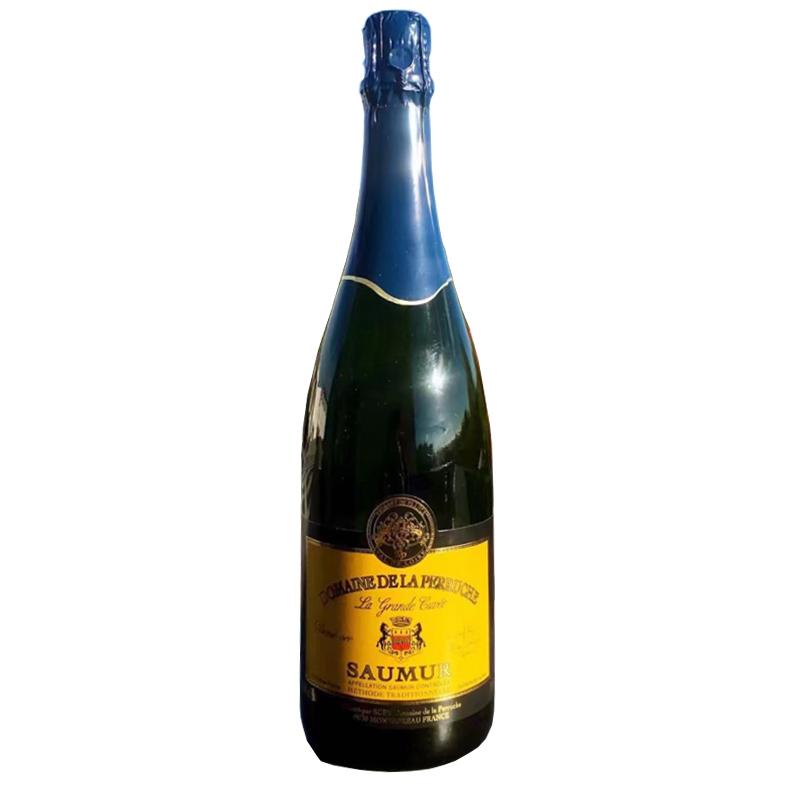 法国索米尔柏瑞斯半干白起泡酒750ml