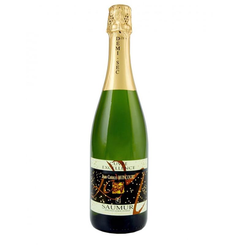 法国索米尔查理斯半干白起泡葡萄酒750ml