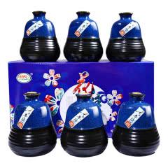 绍兴特产黄酒半甜型糯米花雕月子酒整箱礼盒 500ml*6瓶