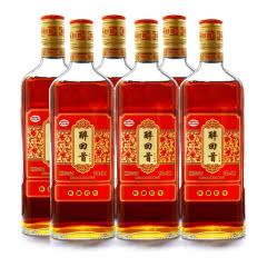 绍兴黄酒库藏陈酿12度低糖半干型糯米加饭酒整箱6瓶装