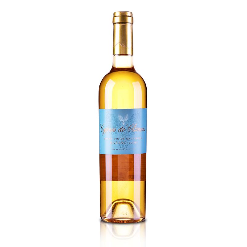 (列级庄·名庄·副牌)克里蒙城堡2008贵腐甜白葡萄酒500ml