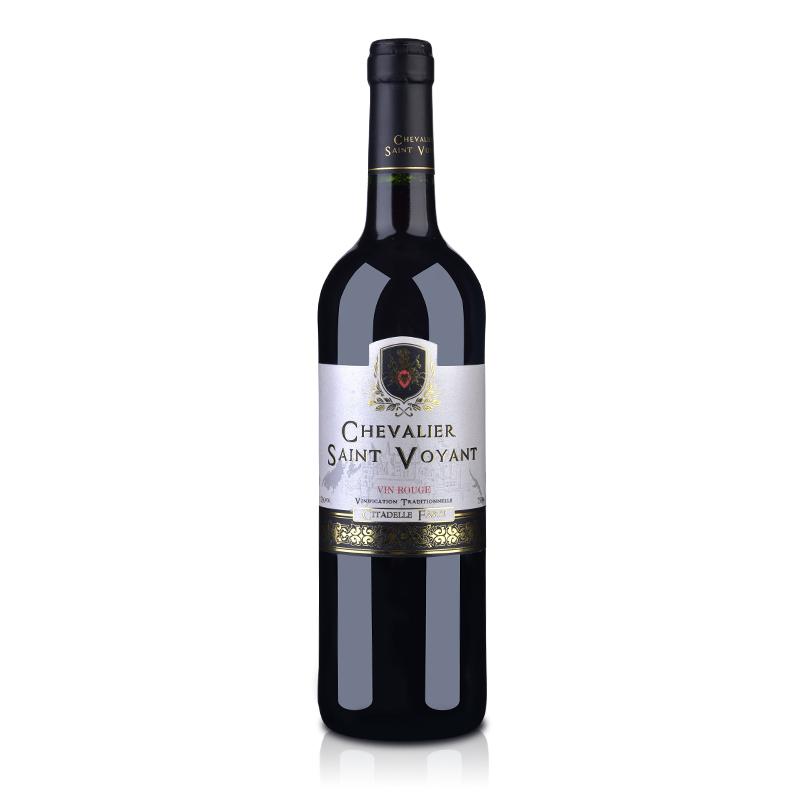 法国(原瓶进口)法圣古堡圣威骑士干红葡萄酒750ml