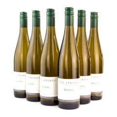THE SPRINGS雷司令 新西兰 原瓶进口 特惠六只装 干白 葡萄酒 750ml*6
