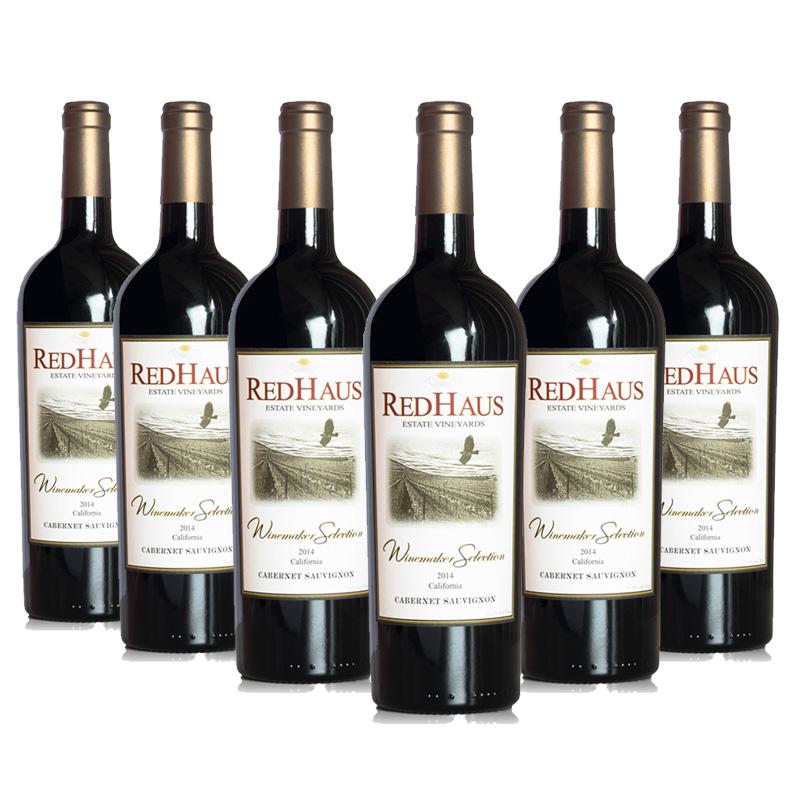 美国豪诗加州赤霞珠干红葡萄酒 750ML (6瓶装)