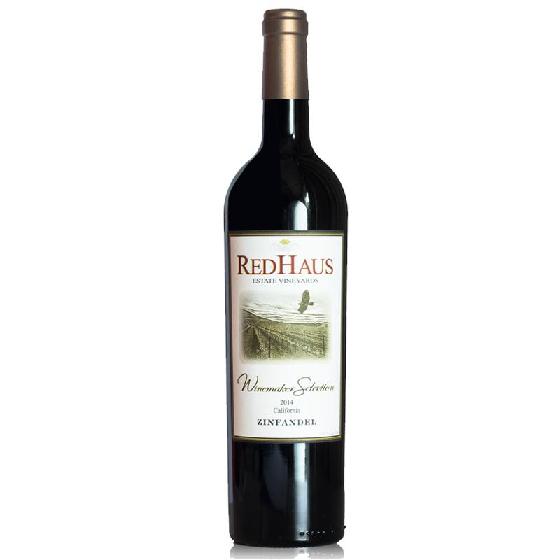 美国豪诗加州仙粉黛红葡萄酒 750ML