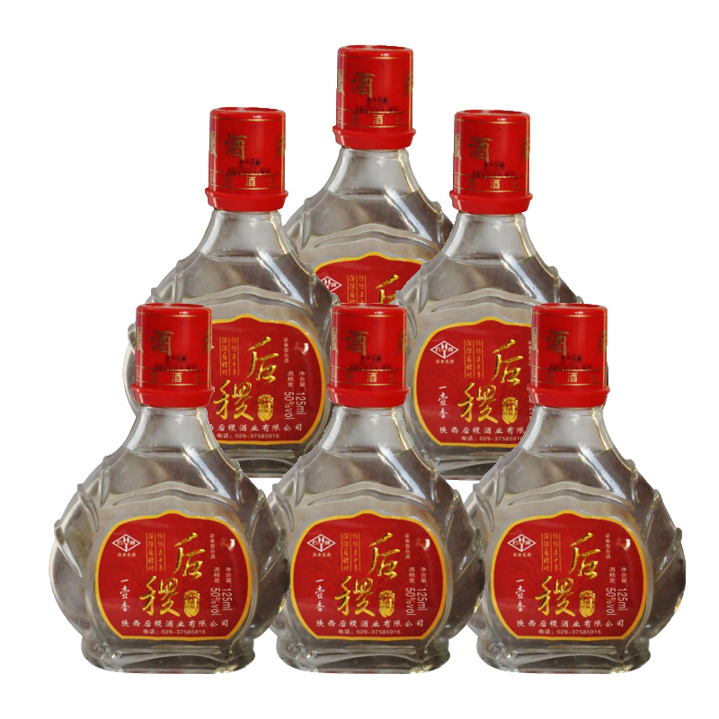 50º后稷125ml(2007年)*6瓶装