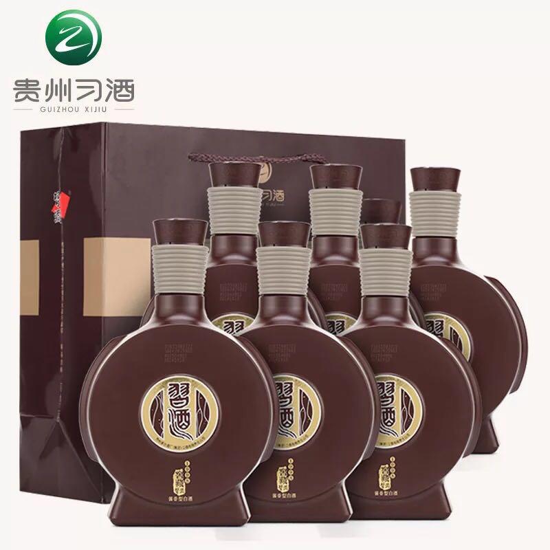 53°贵州茅台集团习酒窖藏1988版500ml*6瓶