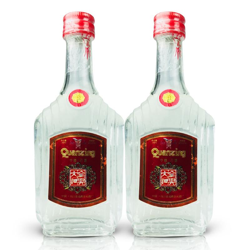 52º全兴大曲50ml (2瓶装) 1999年