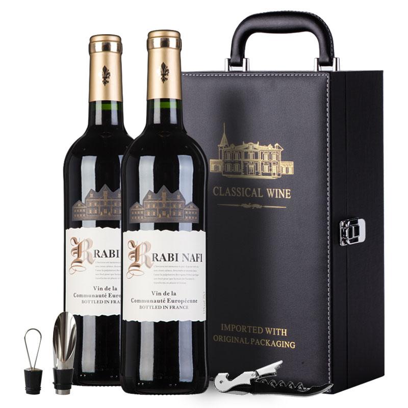 法国原瓶进口拉比纳菲红酒丹魄干红葡萄酒2瓶装  750ml*2