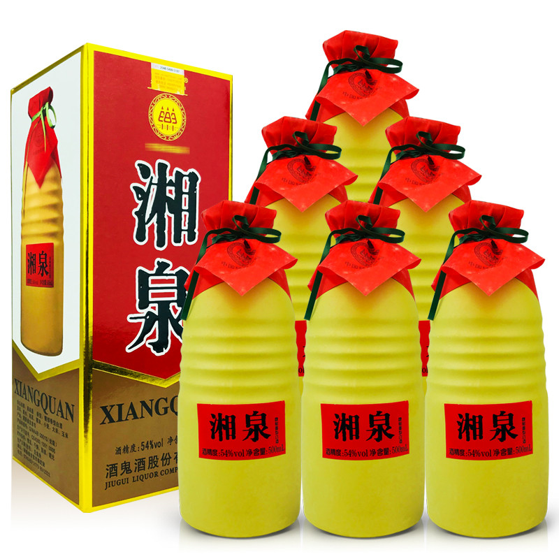 54º酒鬼酒公司湘泉酒500ml (6瓶装) 2012年
