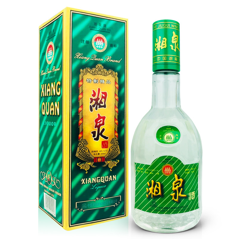 48°酒鬼酒公司绿湘泉酒500ml(1998年)