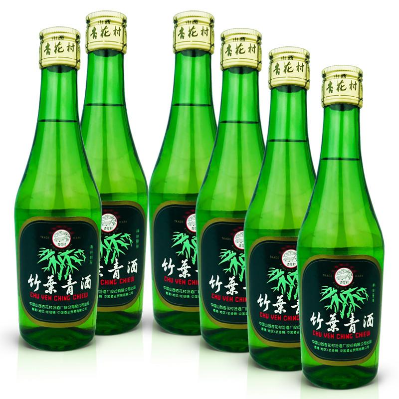 45°竹叶青酒250ml (6瓶装) 2005年