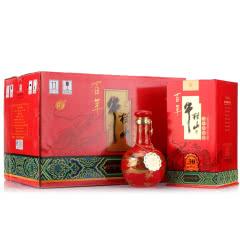 53°百年牛栏山二锅头盛世红三十年(30年)窖藏 500ml*6瓶 整箱