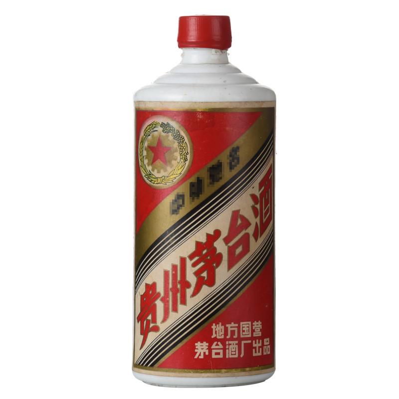 53°贵州茅台酒(地方国营)(80年代)540ML老酒收藏酒