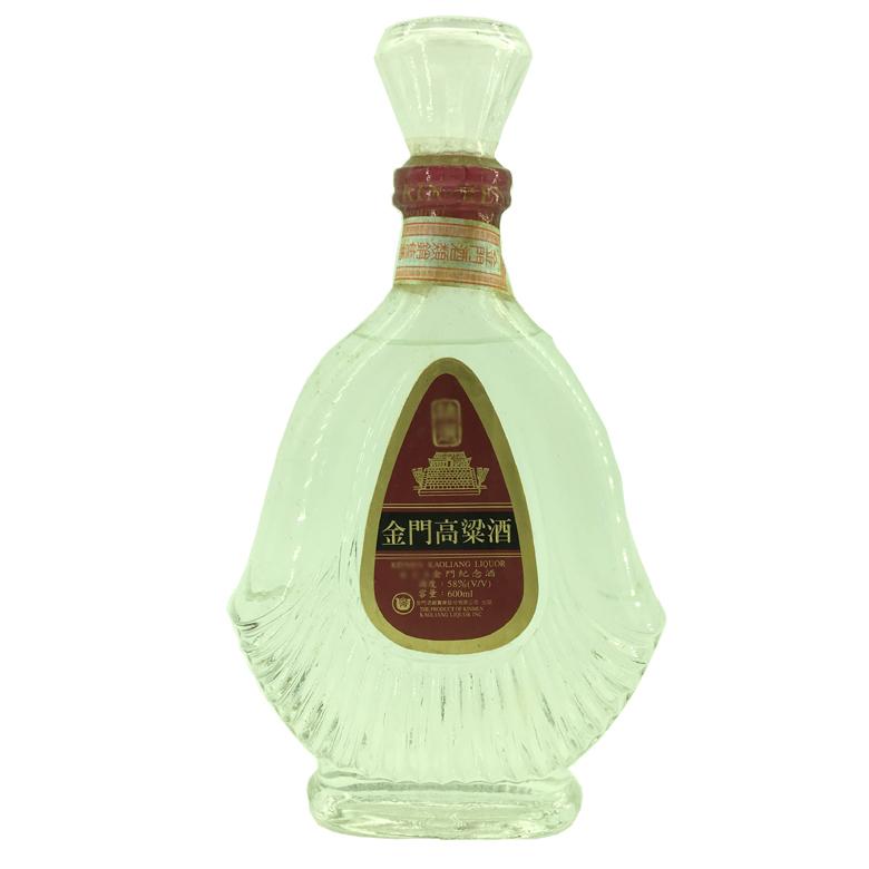58度 金门高粱老酒(老白酒)1980年代末 600ml 台湾陈年老酒