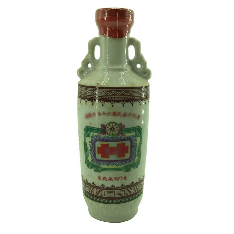 58度 纪念酒系列 双耳瓶 台湾陈年老酒 1976年600ml 金门高粱(部分有盒)