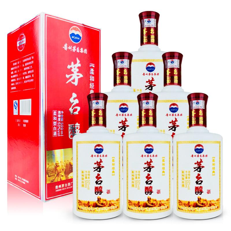 53º茅台醇鸿福酒500ml (6瓶装)2012年