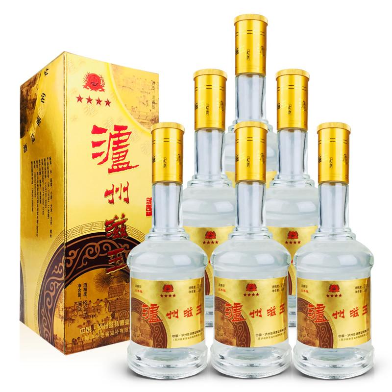 52º泸州老窖滋补公司泸州滋玉大曲酒500ml (6瓶装)05-06年随机发货