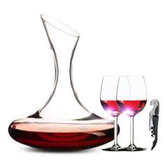 【酒具大礼包】醒酒器*1+葡萄酒杯*2+海马刀*1
