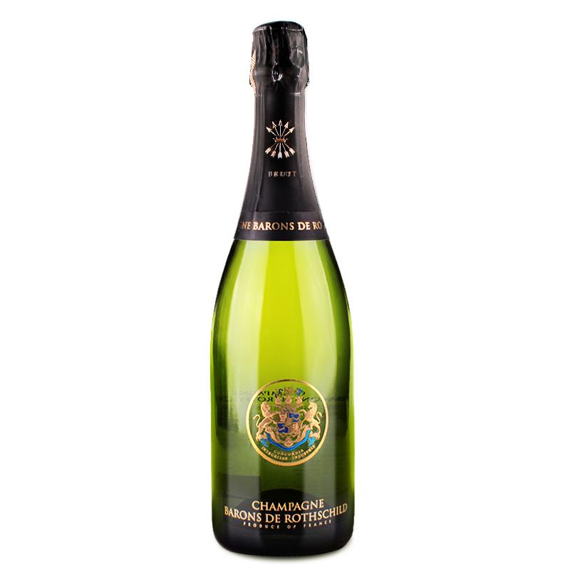 拉菲罗斯柴尔德 香槟 法国进口葡萄酒 拉菲香槟 香槟产区  单支 750ml