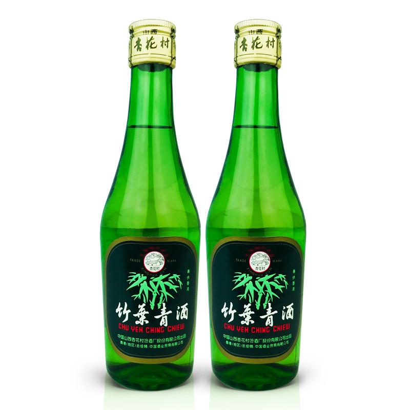 45°竹叶青酒250ml (2瓶装) 2005年