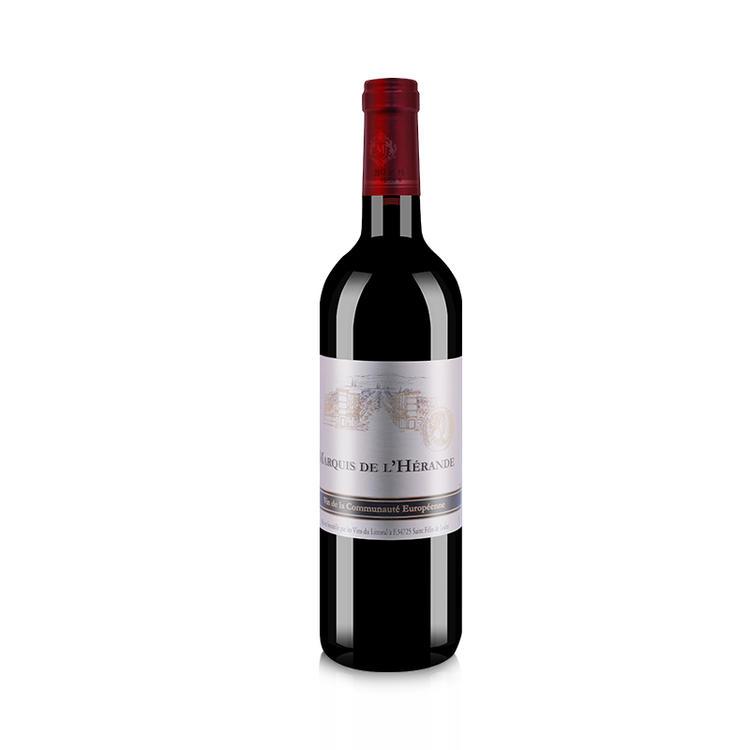 法国红酒原瓶进口侯爵红葡萄酒750ml/瓶