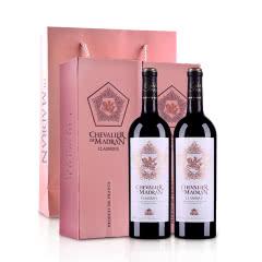 梦特骑士经典干红葡萄酒750ml*2
