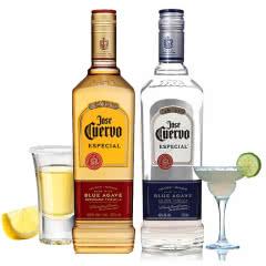 40°墨西哥豪帅快活特醇龙舌兰酒750ml(金银标各1瓶)(2瓶装)